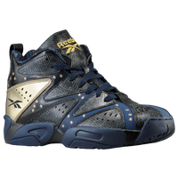 Reebok Kamikaze 1 Mid - Men's - Navy / Gold