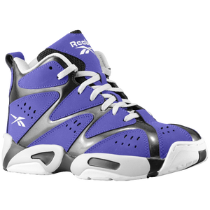 Reebok Kamikaze 1 Mid - Boys' Grade School - Team Purple/Black/Steel/White
