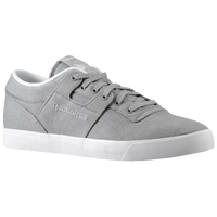 Reebok Workout Low Clean FVS - Men's - Grey / White