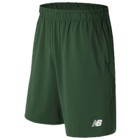 New Balance Tech Shorts - Men's - Dark Green / Dark Green