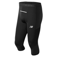 New Balance 4040 OTK Slider Shorts - Men's - Black / White