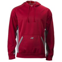New Balance Performance Tech Hoodie - Men's - Red / Grey