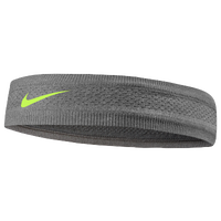 Nike Seamless Narrow Headband - Women's - Grey / Light Green