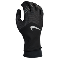 Nike Storm-Fit Hybrid Run Gloves - Men's - Black / Silver