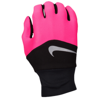 Nike Dri-FIT Tempo Run Gloves - Women's - Pink / Black