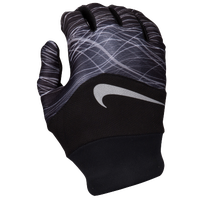Nike Dri-FIT Tempo Run Gloves - Women's - Black / Silver