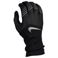 Nike Storm-Fit Hybrid Run Gloves - Women's - Black / Silver