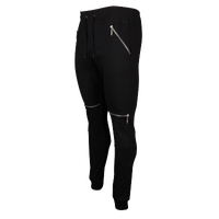 American Stitch Moto Cotton Jogger - Men's - All Black / Black