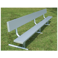 Trigon Portable Aluminum Team Benches