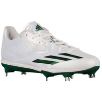 adidas adiZero Afterburner 3 - Men's - White / Dark Green