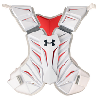 Under Armour Revenant Shoulder Pad Liner - Men's - White / Red