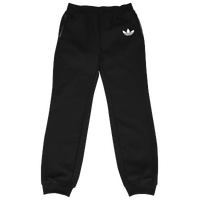 adidas Originals Trefoil Print Pants - Boys' Grade School - Black / White
