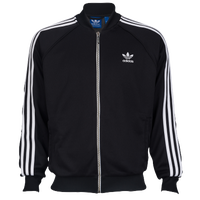 adidas Originals Superstar Track Jacket - Men's - Black / White