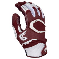 Cutters Rev Pro 2.0 Receiver Gloves - Men's - Maroon / White
