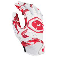 Cutters Rev Pro 2.0 Camo Receiver Gloves - Men's - Red / White