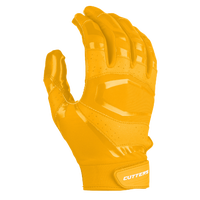 Cutters Rev Pro 3.0 Solid Receiver Gloves - Men's - Gold / Gold