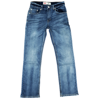 Levi's 505 Slim Fit Jeans - Boys' Grade School - Navy / Navy