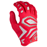 Cutters Gamer 2.0 Padded Gloves - Men's - Red / Grey