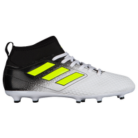 adidas ACE 17.3 FG/AG - Boys' Grade School - White / Yellow