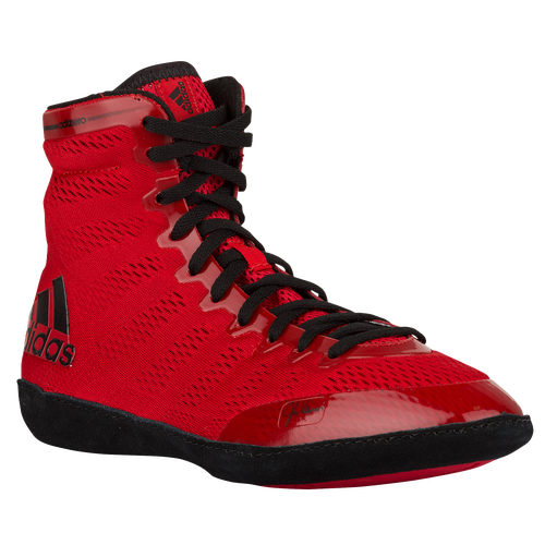 adidas adiZero Varner - Men's - Wrestling - Shoes - Red/Black