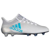adidas X 17.1 FG - Men's - White / Light Blue