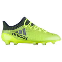 adidas X 17.1 FG - Men's - Light Green / Navy