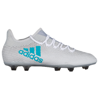 adidas X 17.2 FG - Men's - White / Light Blue