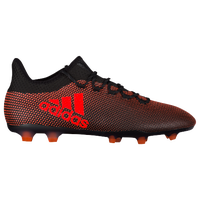 adidas X 17.2 FG - Men's - Black / Red