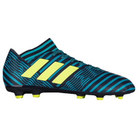 adidas Nemeziz 17.3 FG - Boys' Grade School - Navy / Yellow