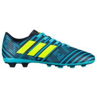 adidas Nemeziz 17.4 FG - Boys' Grade School - Navy / Yellow