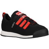 adidas Originals Samoa Loop - Boys' Grade School - Black / Red