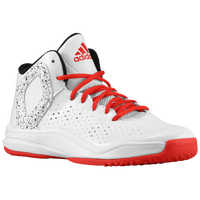 adidas D Rose 5 - Boys' Preschool -  Derrick Rose - White / Red