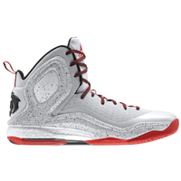 adidas D Rose 5 Boost - Men's - Derrick Rose - White / Red