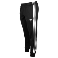 adidas Originals SST Cuffed Track Pants - Men's - Black / White