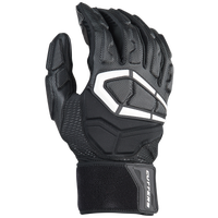 Cutters Force 3.0 Lineman Football Gloves - Men's - Black / White