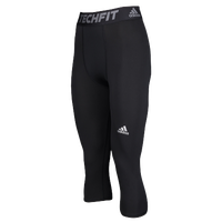 adidas Techfit 3/4 Compression Tights - Men's - Black / Black