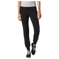 adidas Athletics Linear Cuffed Pants - Women's - Black / White