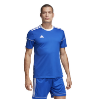 adidas Team Squadra 17 Short Sleeve Jersey - Men's - Blue / White