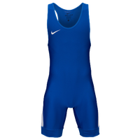 Nike Nike Grappler Elite Wrestling Singlet - Men's - Blue / White