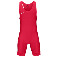 Nike Nike Grappler Elite Wrestling Singlet - Men's - Red / White