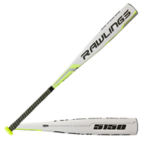 Rawlings 5150 Baseball Bat -10 - Youth - White / Black