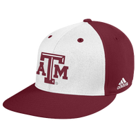 adidas College Onfield Baseball Hat - Texas A&M Aggies - Maroon / White