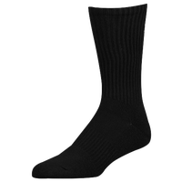 Under Armour Charge Cotton 2.0 6 Pack Crew Socks - Men's - All Black / Black
