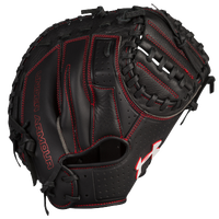 Under Armour Framer Series Catcher's Mitt - Youth - Black / Red
