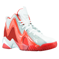 Reebok Kamikaze II Mid - Boys' Grade School - White / Red