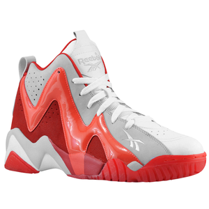 Reebok Kamikaze II Mid - Men's - White/Steel/Excellent Red/Bright Cadium Ice