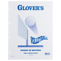 Glover's Volleyball Scorebook Binder Refills