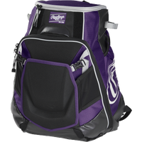 Rawlings Velo Backpack - Purple / Black