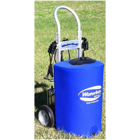 Waterboy Sports 23 Gallon 6 Station on Dolly