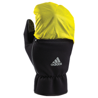 adidas AWP 3.5 Combo Run Gloves - Men's - Black / Yellow